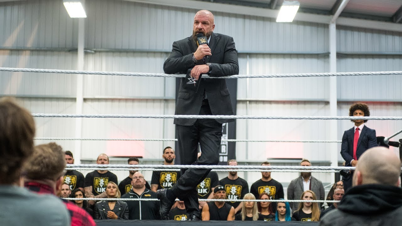 Triple H announces opening of UK Performance Center during live press conference