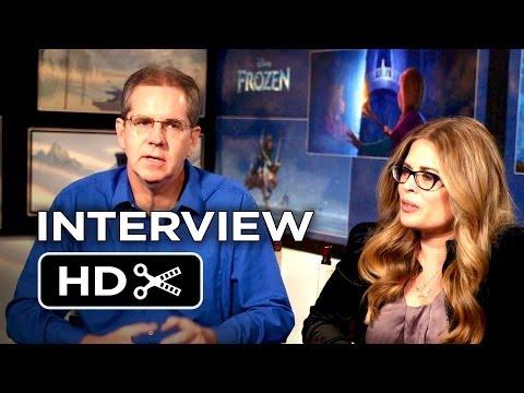Frozen Interview - Chris Buck & Jennifer Lee (2013) Disney Animated Movie HD