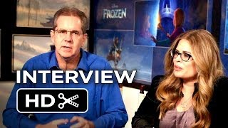 Frozen Interview - Chris Buck & Jennifer Lee (2013) Disney Animated Movie HD