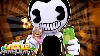 BENDY EATS LITTLE KELLY AND TINY TURTLE ! Little Minecraft