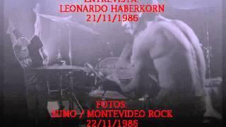 Reportaje Luca Prodan y Diego Arnedo (Leonardo Haberkorn 21/11/86) Sumo En Uruguay