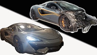 BUILDING A CUSTOM MCLAREN IN MINUTES!