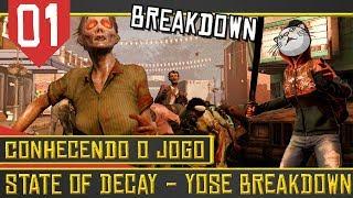 State of Decay #01 - Um abrigo fulero no Breakdown [Série Gameplay Português PT-BR]