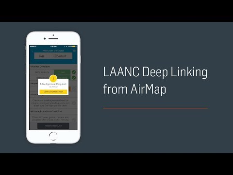 LAANC Deep Linking from AirMap
