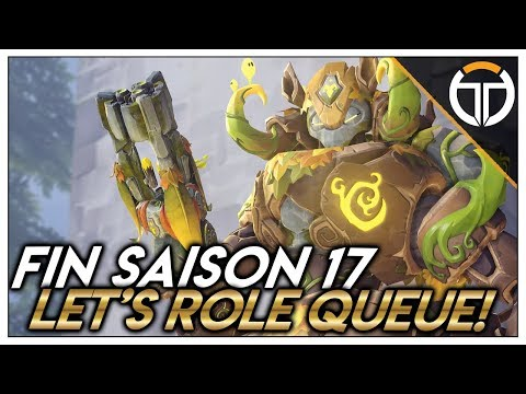 ►FIN DE LA SAISON 17 COMPÉTITIVE! PLACE A LA ROLE QUEUE!! ◄ OVERWATCH FR