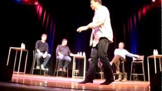 Neil deGrasse Tyson Moonwalking at StarTalk Live