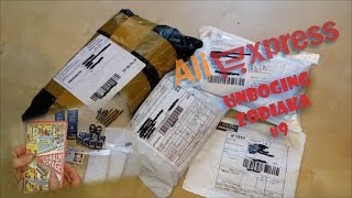 Zakupy z Chin AliExpress #9 Unboxing