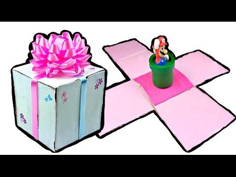 C mo hacer un regalo que se abre solo tutorial navide o for Como se abre un cajero automatico