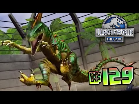 Maxed Velociraptor Returns!! || Jurassic World - The Game - Ep 129 HD