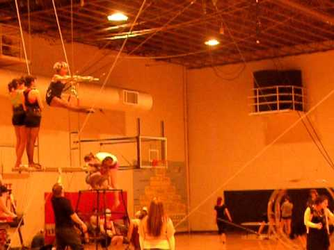 Low casting at Y Circus in Redlands, Ca.