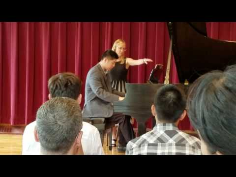 20170617 Christopher Piano recital at Philips Academy