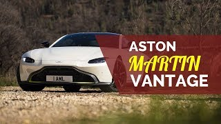 2019 Aston Martin Vantage aston martin v8 vantage exterior porsche review mat watson