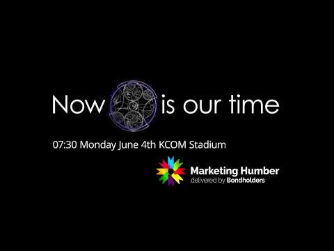 Now is our time brand creation and social media advert