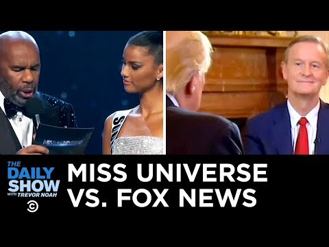 Miss Universe vs. Fox News | The Daily Show
