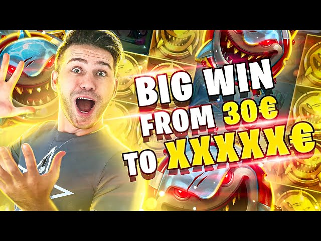 🔵*/ RAZOR SHARK SLOT / DE LA 30€ LA BOOM / BIG WIN / CASINO ROMANIA / LIKE ⇘