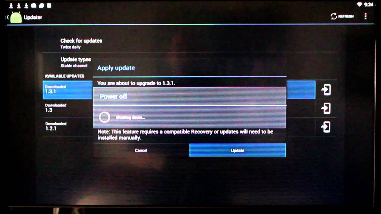 cfcb6e721cea How to update your G-Box Q - YouTube