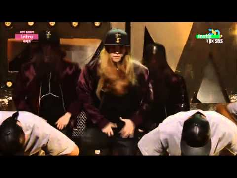 Debut Stage THE ARK 디아크 Intro @ Inkigayo   YouTube