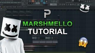 HOW TO MAKE: Music like Marshmello - FL Studio tutorial