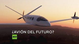 Presentan un avión totalmente eléctrico para rutas comerciales