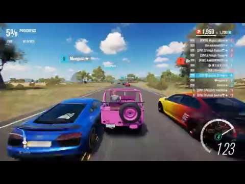 Forza Horizon 3 PC - 1945 Jeep Willys [S1 Class] Online Race Gameplay (Crazy Acceleration!)