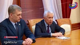 Владимир Васильев встретился с советником президента РФ Русланом Эдельгериевым