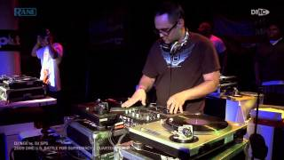 DJ NEB Vs DJ SPS || 2009 DMC U.S. Battle For Supremacy || Quarterfinal Round