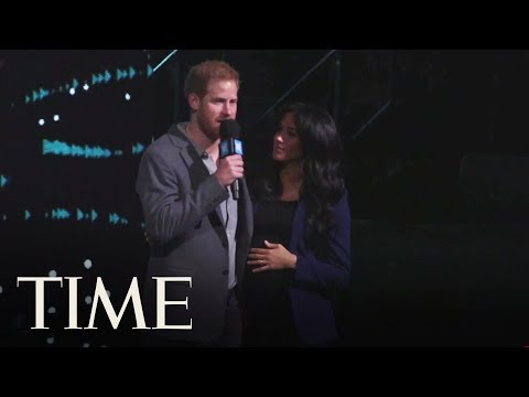 Meghan Markle Made A Delightful Surprise Appearance On Stage With Prince Harry | TIME