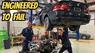 Here's Why BMW V8 Engines Are JUNK! Cheapest Alpina B7 Teardown