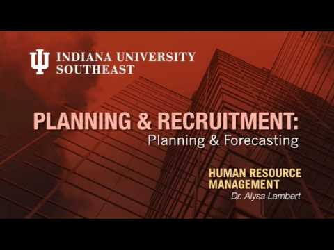 HR Management: Planning & Forecasting