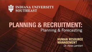 HR Management techniques to plan and forecast for new and vacant po...
