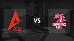 Map 2 / Vertigo / Ad hoc Gaming vs. Unicorns of Love // 99Damage Liga Saison 13 - Offline FINALE
