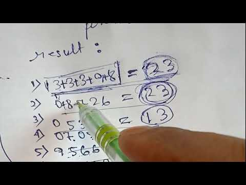 Powerful Lottery Formula Discover in winning the Lottery Daily-2018