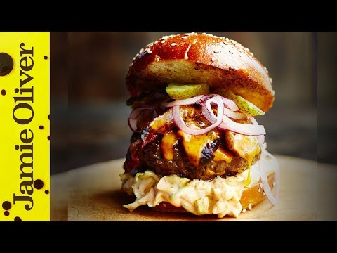 The Ultimate Beef Burger | Jamie's Comfort Food | Jamie Oliver & DJ BBQ
