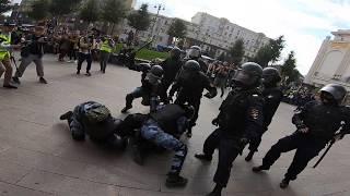 Задержание Павла Устинова - 3 августа 2019