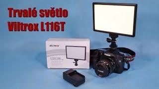 Professional LED light Viltrox L116T kit / Aliexpress ~ unboxing & test ~ Česky ⁴ᴷ