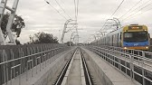 Driver's View Skyrail Dandenong Line Melbourne. Before, During After. Part 1 Noble Park