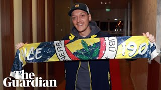 My dreams come true Mesut Özil arrives in Turkey to sign for Fenerbahce