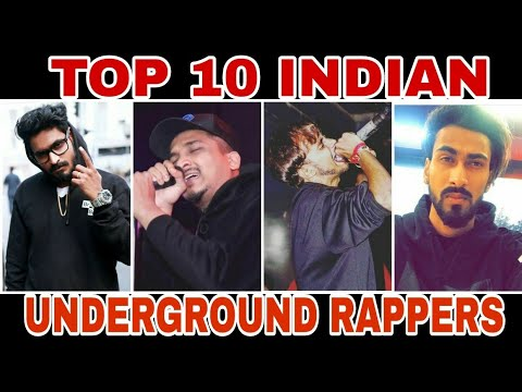 TOP 10 INDIAN UNDERGROUND RAPPERS|| 2017|| THE VIRAL STUFF