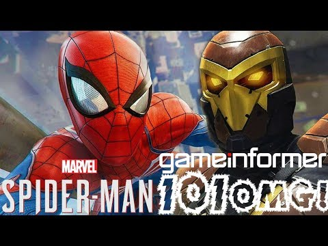 Spider-Man PS4: 101 - Full Game Informer Review! Collector's Edition Details! Info Extravaganza!