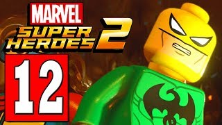 LEGO Marvel Super Heroes 2 Walkthrough Part 12 CAVES OF KUN LUN / STEEL SERPENT BOSS DEFEATED
