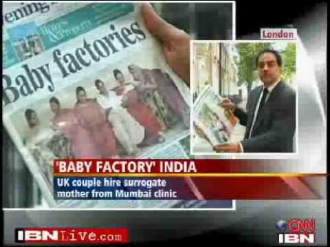 Surrogate mums India dubbed baby factory by UK media