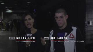 Fight Night Phoenix: Joe Lauzon Backstage Interview
