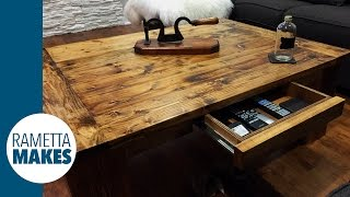 How to Build a Coffee Table DIY