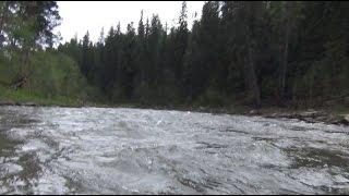 рыбалка сплавом видео