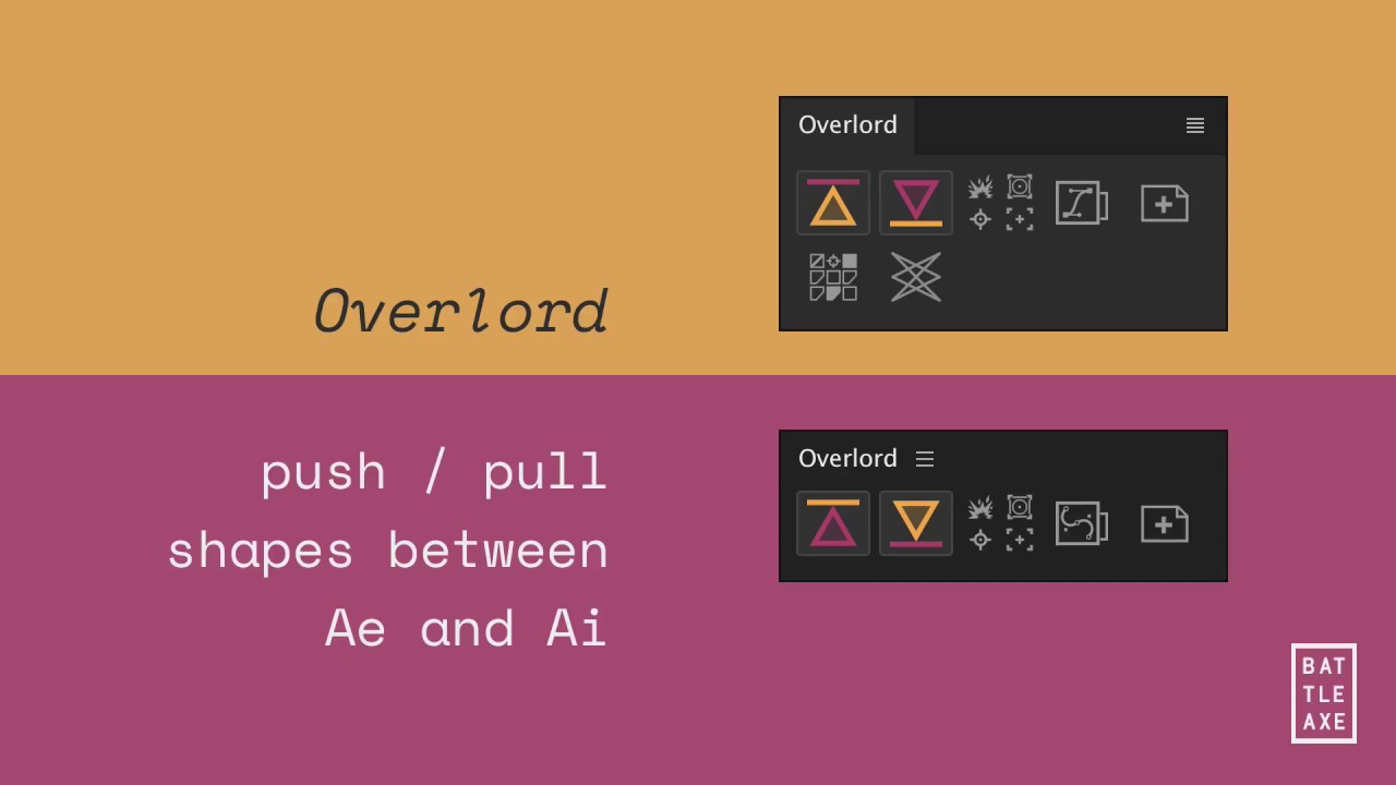 Overlord::Usage — Battle Axe