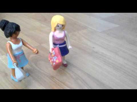 Le centre commercial entre copines : playmobil