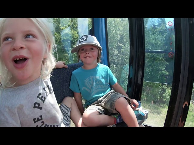 Revy Groms Ride The Pipe Mountain Coaster