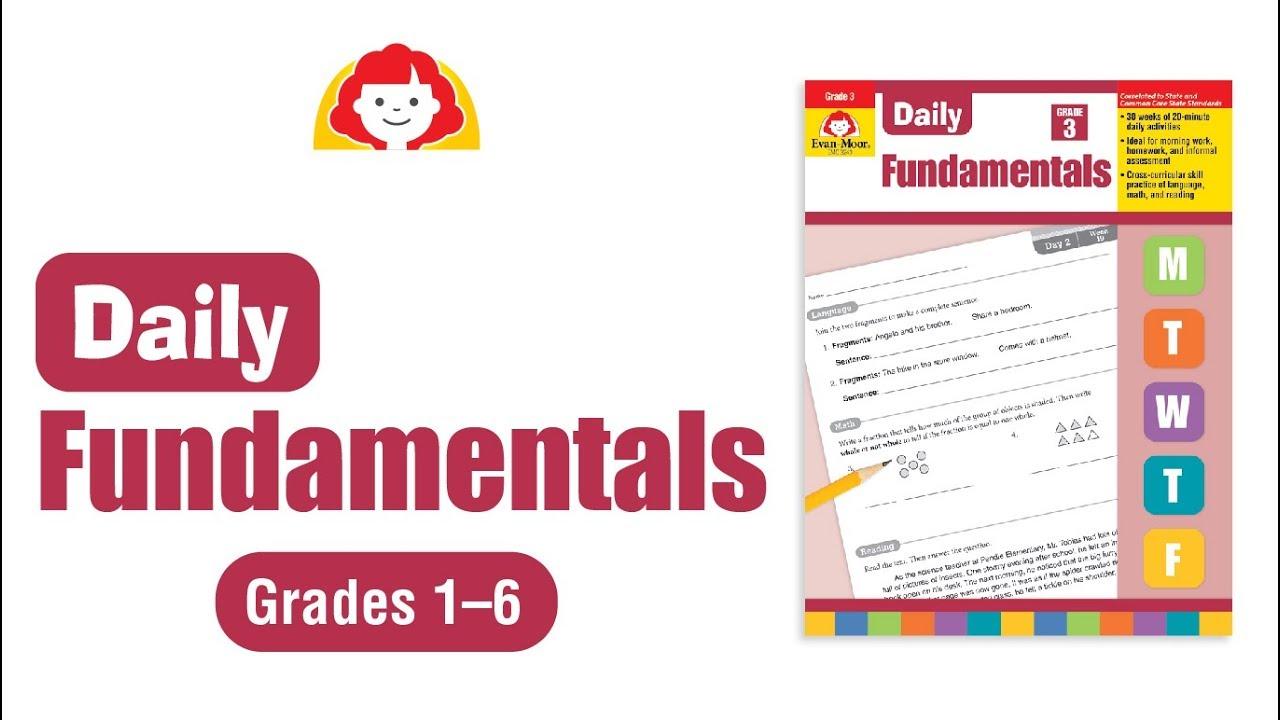Daily Fundamentals - Teacher's Edition – Grade 3