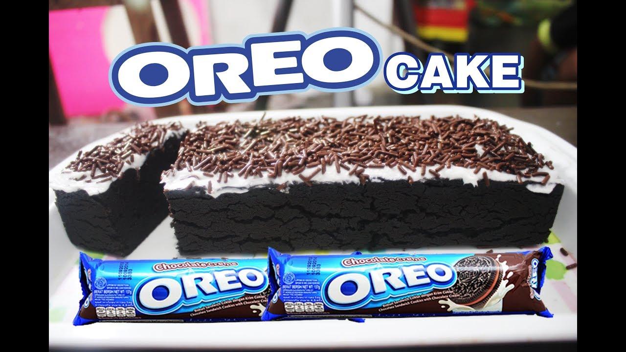 Cara Membuat Kue Sederhana Dari Oreo Dan Susu Oreo Cake