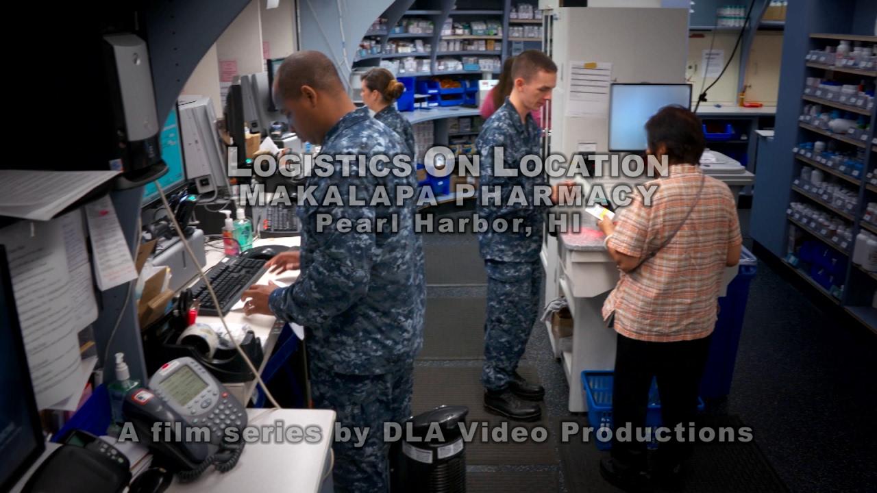 Logistics On Location: Naval Health Clinic, Makalapa Pharmacy, HI (YouTube Captions))